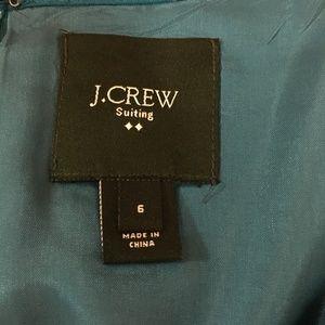 J. Crew Dresses - J. Crew *Teal* Suiting Dress